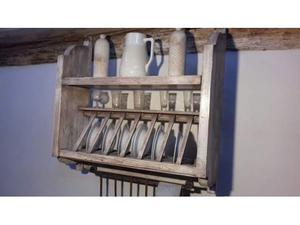Piattaia decapata in legno di abete