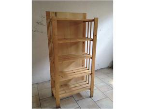 Piccola scansia con 3 mensole diverse misure posot class - Mensole legno ikea ...