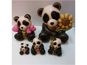 Serie panda in ceramica thun nuovi con scatola mai usati