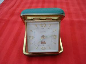 Sveglia vintage anni '50 anni, 2 Jewels made in Germany