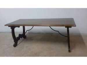 Tavolino in legno massello di castagno