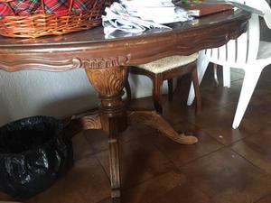 Tavolo legno e 4 sedie