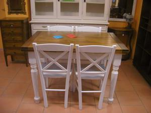 Tavolo massello allungabile cucina sala