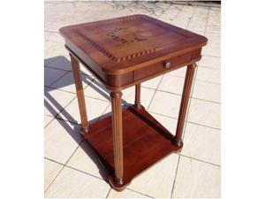 Tavolino tavolo basso legno intarsiato perfetto posot class for Tavolo legno intarsiato