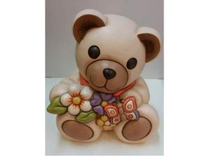 Teddy primavera in ceramica thun nuovo con scatola mai usato