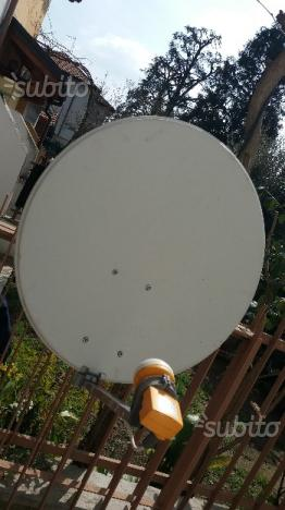 Antenna parabola completa di bulbo e braccio