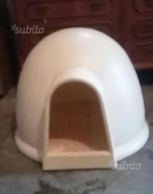 Cuccia igloo per cane taglia media