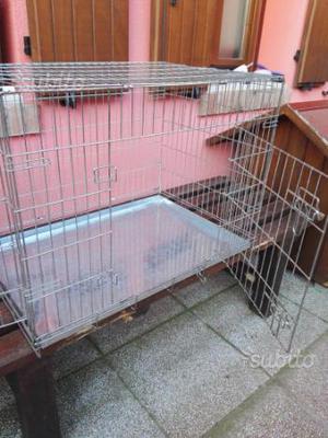 Kennel gabbia cuccia per cane taglia media