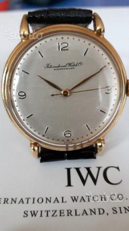IWC Cal. 89 in oro