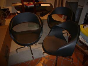 Set di 3 sedie