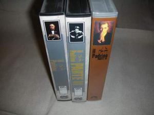 Videocassette Padrini dal 1 al 3 Orriginale 15