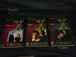 X-files lotto 3 libri