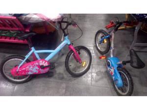 2 bici bambino bambina