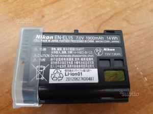 Batteria nuova Originale Nikon d610 d750 d800 d810