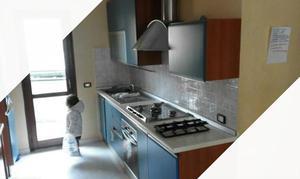 Cucina lube modello fabiana in ciliegio vetro   Posot Class