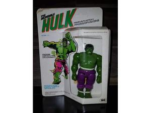 Hulk Spider Man Superman Mego Marvel Micronauti magnetic