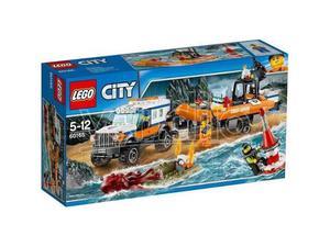 LEGO CITY  - UNITA' DI RISPOSTA CON IL FUORISTRADA 4x4