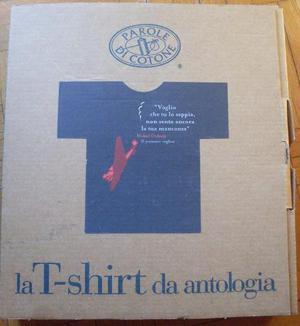 NUOVA T-shirt idea regalo Natale Taglia L nera