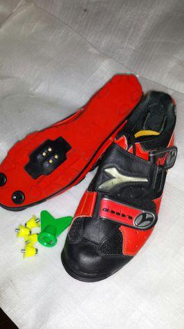Scarpe diadora da bici nuove 42