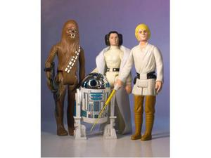 Star Wars Jumbo Kenner Action Figures 4 Pack Early Bird Set