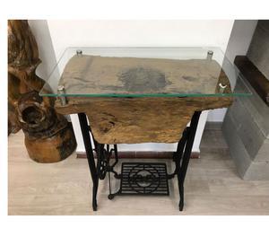 Tavolino in legno massello di teak posot class for Macchina da cucire salmoiraghi 133