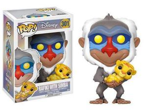 Funko Il Re Leone POP Disney Vinile Figura Rafiki Simba 9 cm
