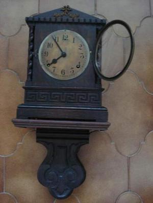 Orologio pendolo legno tavolo o muro con mensola collezione