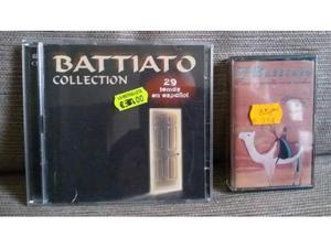 Franco Battiato cd e Mc in spagnolo