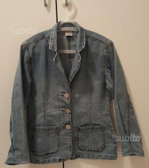 Giacca donna in jeans taglia 40
