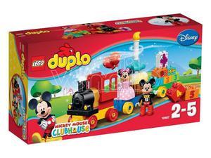 LEGO DUPLO: TRENINO DI TOPOLINO E MINNIE DUPLO - COSTRUZIONI