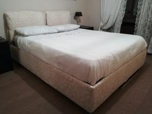 Letto di legno usato con testata a contenitore posot class - Vendo letto contenitore ...