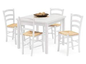 Sedia convenienza monacoarreda posot class for Tavoli bianchi