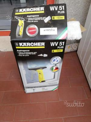 Aspiragocce lavavetri elettrico a batteria posot class for Aspiragocce karcher