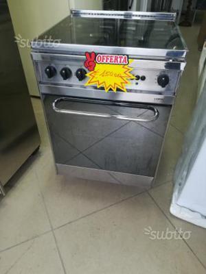 Cucina lofra 4 fuochi con forno a gas ed elettrico