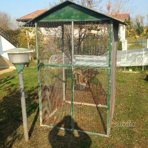 Gabbia per uccelli da giardino