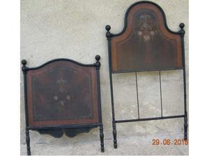 Letto in ferro vintage