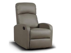 Poltrona reclinabile similpelle posot class - Poltrona reclinabile ikea ...