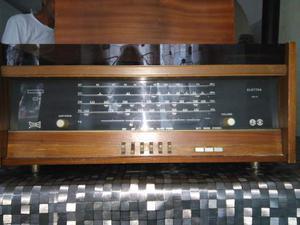 Radio giradischi anni 30 in legno