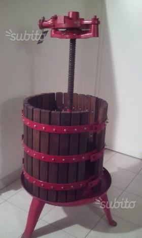 Torchio da vino + Accessori