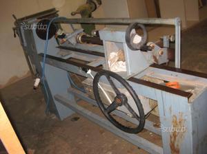 Tornio automatico per legno usato locatelli posot class for Copiatore per tornio legno autocostruito