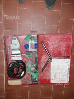 Espansore per tubi aquatherm posot class for Impianto idraulico pex vs rame