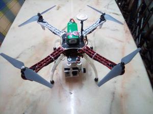 Drone dji f450 con telemetria e videocamera 4k