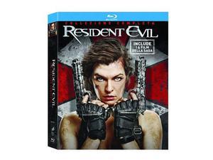 Resident Evil collezione completa 6 Blu Ray