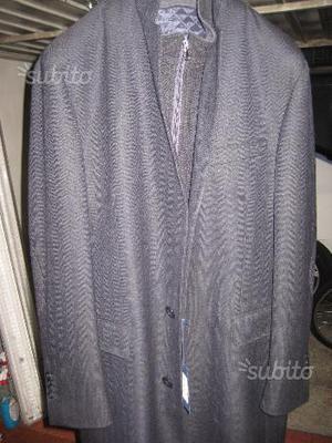 Cappotto giubbino giacca abbigliamento uomo tg 52