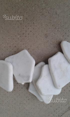 Ciottoli in marmo di Carrara