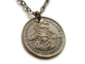Game of Thrones Pendant Necklace Daenerys Targaryen Mark of
