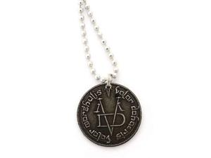Game of Thrones Pendant Necklace Iron Coin of the Faceless
