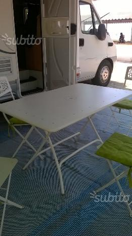 Tavolo e 4 sedie scaab da giardino