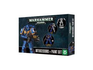Warhammer 40k space marines + paint set kit gamesworkshop