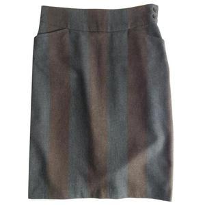 kenzo striped skirt